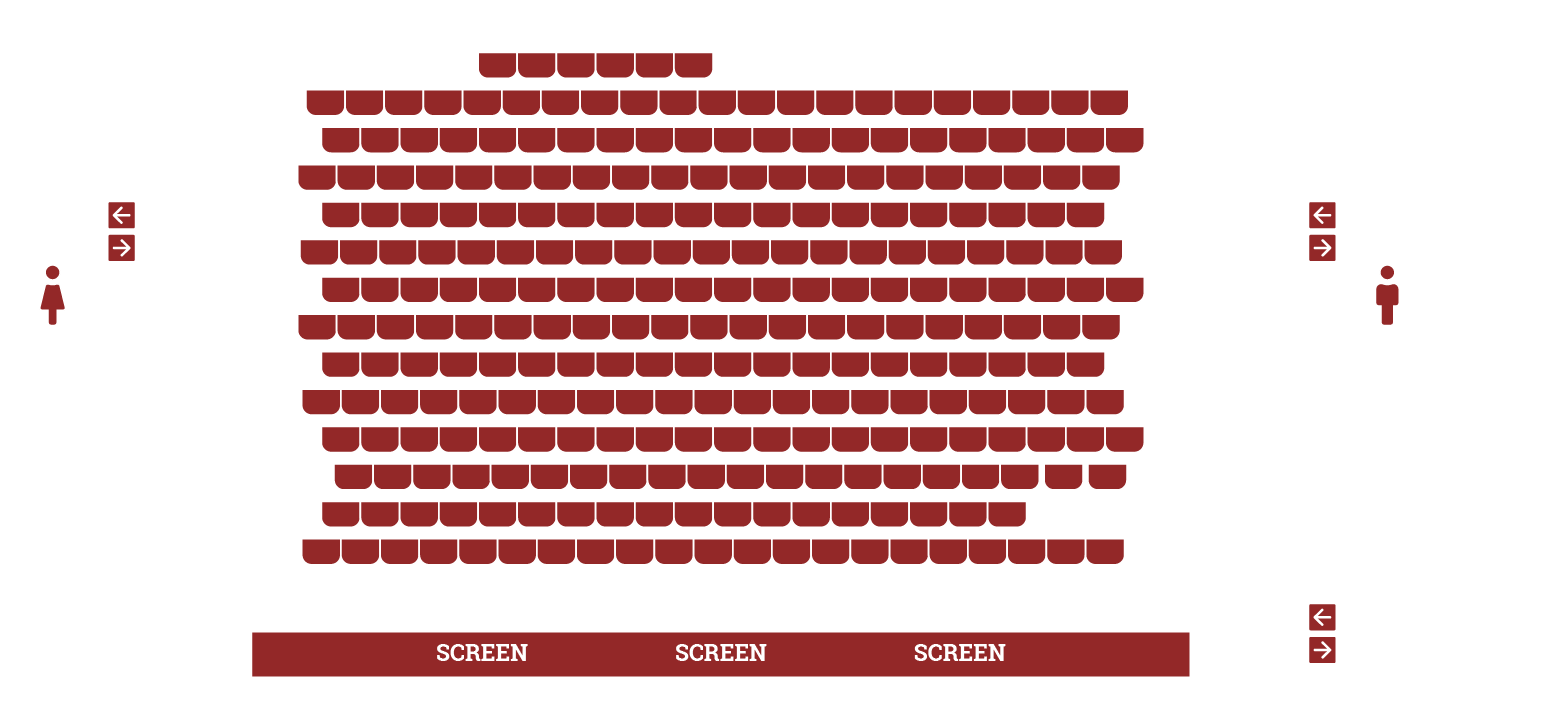 Filmhouse 1 Seating Plan